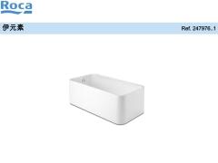 Roca乐家伊元素独立式普通浴缸