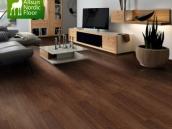 傲胜地板 黑胡桃楸木15mm实木复合木地板防潮耐磨哑光实木多