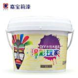 嘉宝莉 油漆涂料水性木器漆 翻新白漆家具漆涂彩玩家DIY图片