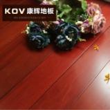康辉地板 纯实木地板南美洲进口环保铁线子红檀木地板 18mm图片