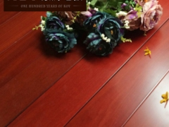 康辉地板 纯实木地板南美洲进口环保铁线子红檀木地板 18mm