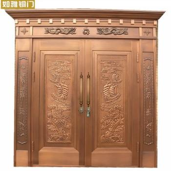 上海如雅铜门|车库铜门|进户门|铜大门|铜庭院门|别墅门|别