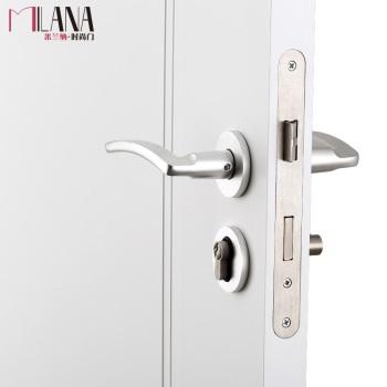 米兰纳・时尚门专用雅洁五金套装室内门 木门 MSX045带钥