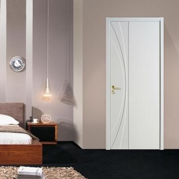 康辉室内门卧室房间套装门 实木复合烤漆门环保木门 平板门系列