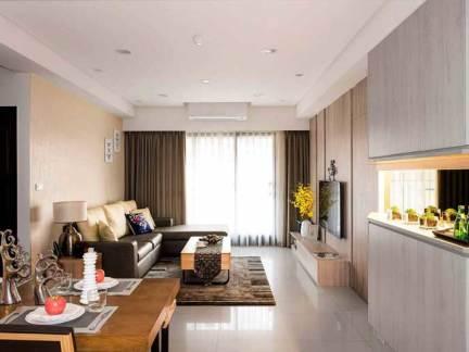75平米简约风一居室 紧凑暖心小窝