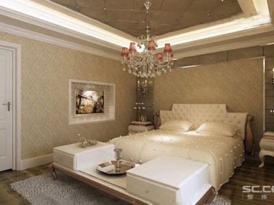 简欧风格-35.66平米一居室装修样板间
