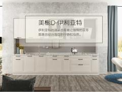 我乐厨柜 整体橱柜 厨房定制 欧式 模压 美橱D-伊利亚特
