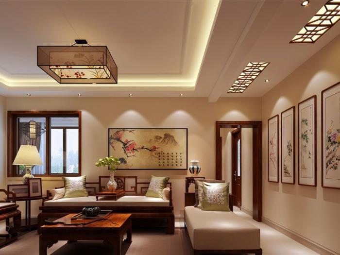 中式风格-90平米二居室-装修设计