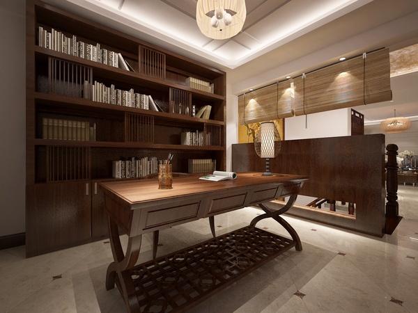 中式古典-245平米别墅-装修样板间