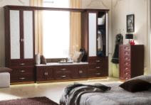 顶固衣柜 拉斐尔庄园系列红樱桃飘窗柜图片