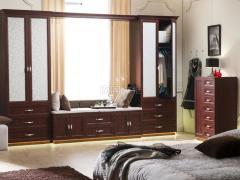 顶固衣柜 拉斐尔庄园系列红樱桃飘窗柜
