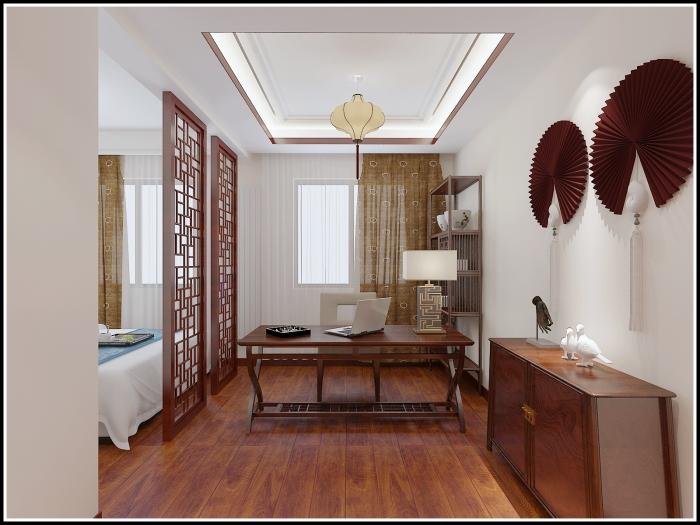 中式古典-159平米四居室-装修样板间