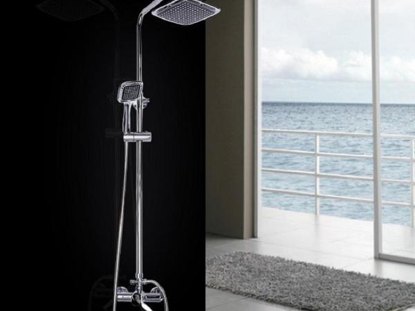 荣事达花洒套装 WH01 浴室花洒套装淋浴喷头全铜可调升降卫