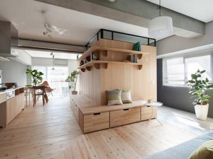 建筑改造之日本横滨老宅翻新