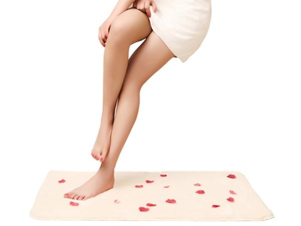 特惠喜马拉雅浴室垫 纯色毛防滑地垫77EbE