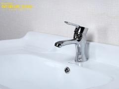 荣事达浴室面盆龙头WL01全铜洗脸盆冷热水龙头洗手盆台上盆