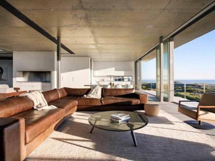 南非混凝土格调的海滩私人住宅