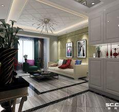 福地隆城-三居室-后现代风格