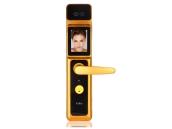 友迪斯人脸锁扫描识别智能电子锁家用防盗门密码磁卡遥控锁A6