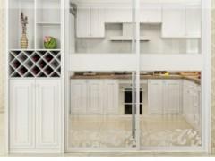 索菲亚定制家系列简欧风尚实用入户柜/酒柜