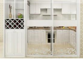 索菲亞定制家系列簡歐風尚實用入戶柜/酒柜