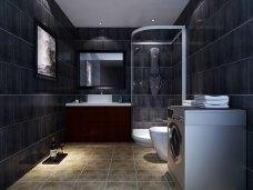 现代简约-111平米三居室装修图片