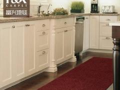 美式现代厨房地毯长条地垫长方形纯色防滑可水洗机洗门垫门厅进门