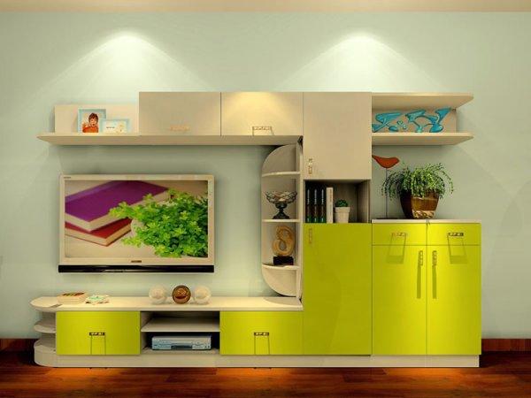 小清新的里昂春天风格客厅家具 电视柜