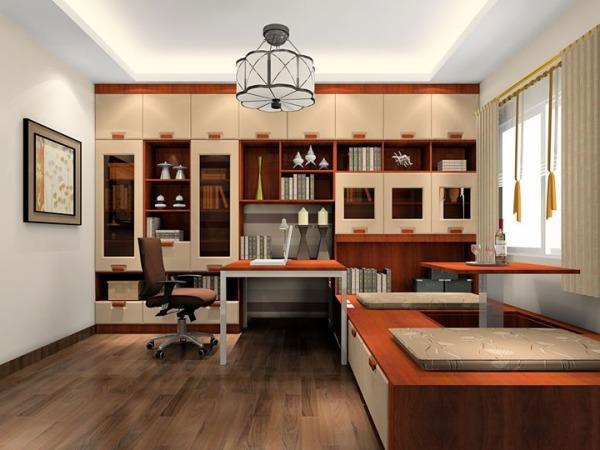 榻榻米兼书房的设计书房