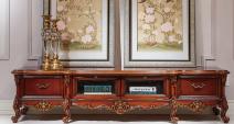爱玛仕 法式宫廷系列 100%全实木地柜图片