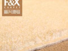 欧式现代简约家用卧室床边地毯满铺客厅茶几地垫纯色白色定制定做