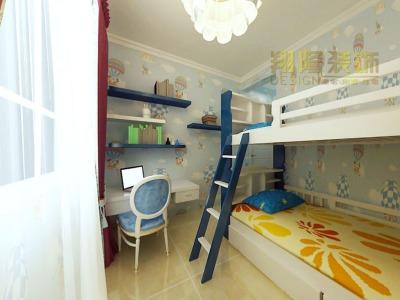 中式风格-127平米三居室装修样板间