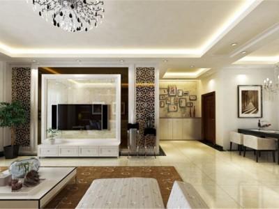 简欧风格-200平米四居室装修设计