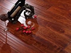 富林实木地板STN5282亚花梨红色