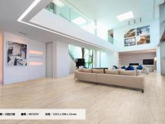 莱茵阳光风尚系列田园白橡MC4253强化复合地板