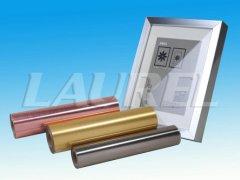 玫瑰金色金属拉丝膜高亮反射墙纸通过宜家甲醛测试