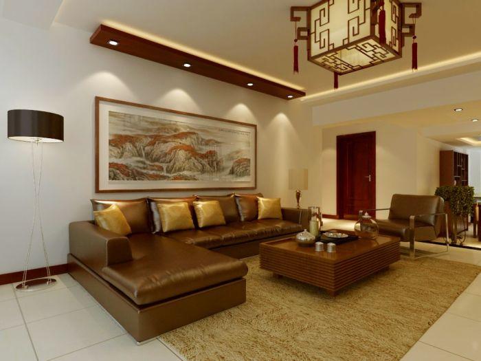 中式风格-220平米跃层-装修样板间