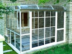 班慕正品经典款80系列露台阳光房钢化玻璃房凤铝上海包安装