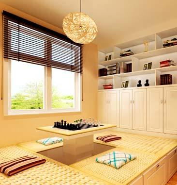 现代简约-89平米二居室-装修样板间