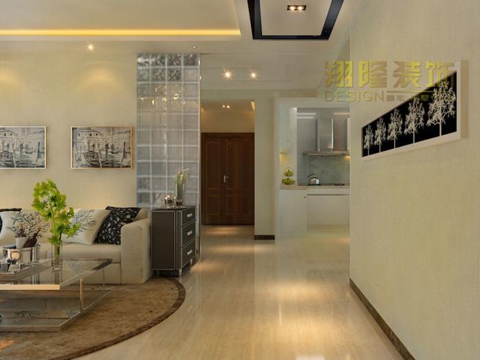 现代简约-142平米三居室-装修样板间