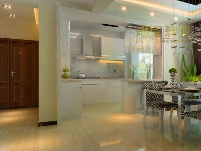 现代简约-142平米三居室装修样板间