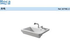 Roca乐家丹玛梳洗盆 卫生间梳洗盆 梳洗盆台盆