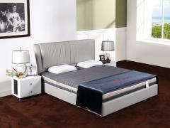 A家家居卧室高锰钢弹簧床垫1.8米3D椰棕顶级智能床垫A50