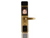 友迪斯人脸锁扫描识别智能电子锁家用防盗门密码磁卡遥控锁A5