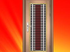豪华彩色不锈钢门 入户门 防盗门 大门
