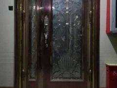 304豪华彩色不锈钢门 大门 入户门 子母门 防盗门