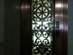 304豪华彩色不锈钢门 大门 防盗门 入户门