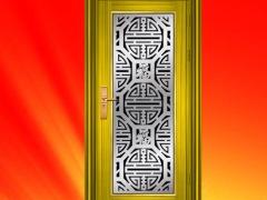 304豪华彩色不锈钢门 入户门 大门 防盗门