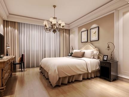 现代时尚卧室装修-搜房网装修效果图
