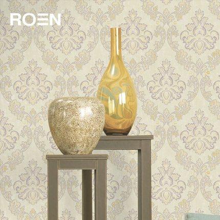 ROEN柔然壁纸 现代欧式大马士革 时尚色系